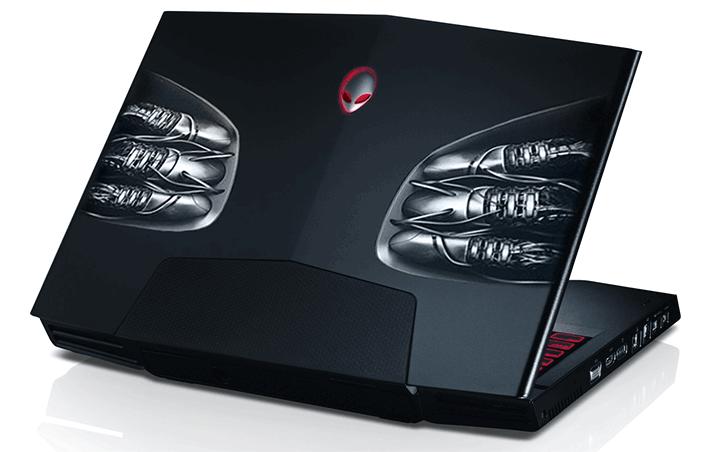 Alienware M17x лучший игровой ноутбук 2013 года
