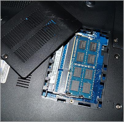 Оперативная память для ноутбука настройка замена