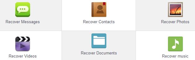 Возможности восстановления файлов в Mobisaver