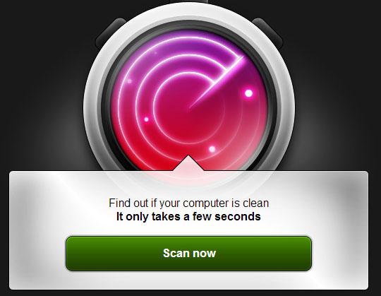Проверка на вирусы онлайн с помощью BitDefender QuickScan