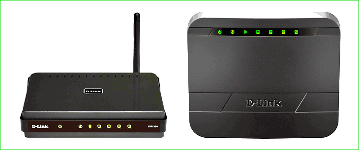 Wi-Fi роутеры D-Link DIR-300 B5 и B7