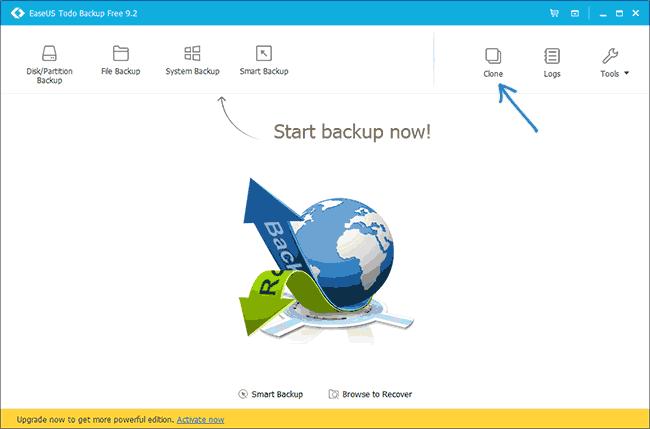 Программа Easeus ToDo Backup Free