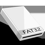 Отформатировать внешний жесткий диск в FAT32
