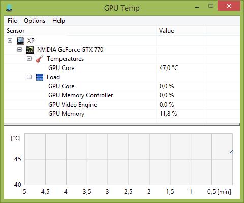 Программа GPU Temp