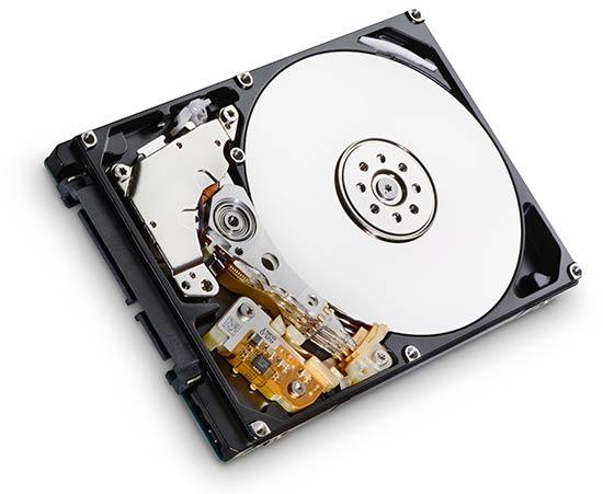 Хранение данных на жестком диске