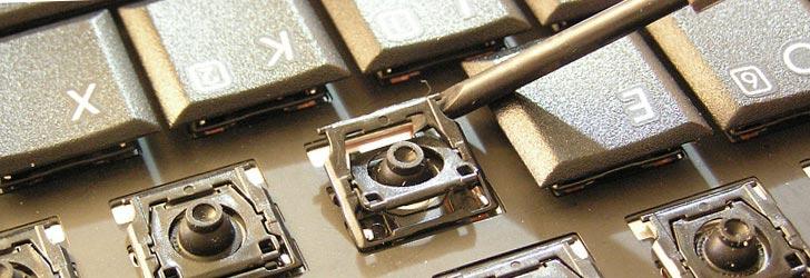 Устройство клавиатуры ноутбука