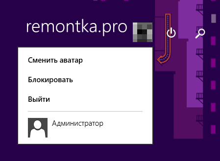 Вход в Windows 8 под Администратором