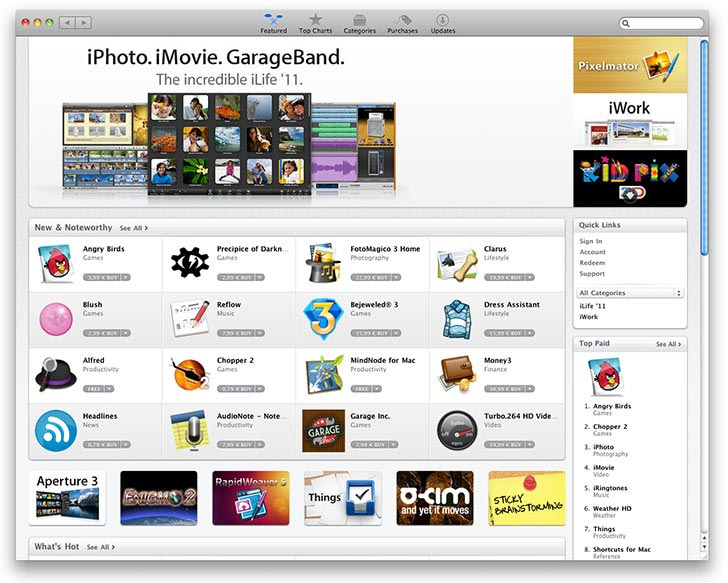 Магазин приложений Mac App Store