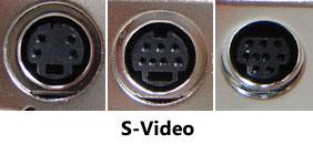 Разные виды порта S-Video