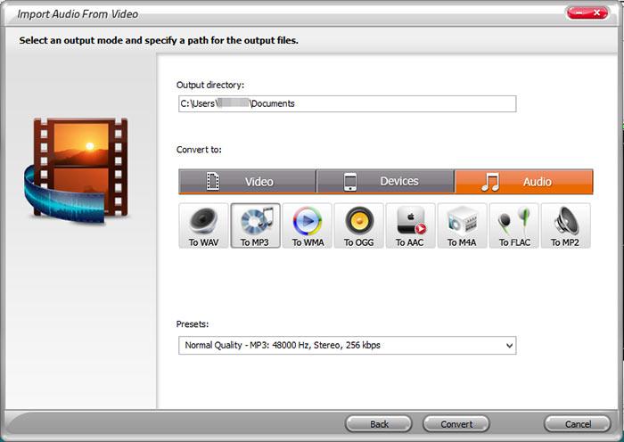 Вырезать звук из видео программа скачать