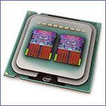 Выбрать ядро процессора