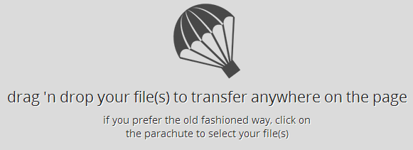 Отправка файла в JustBeamIt