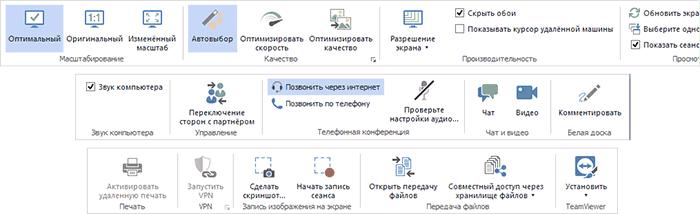 Возможности удаленного доступа TeamViewer