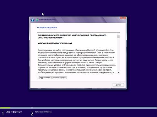 Лицензия Windows 8