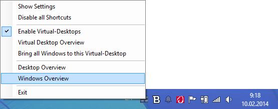Контекстное меню BetterDesktopTool