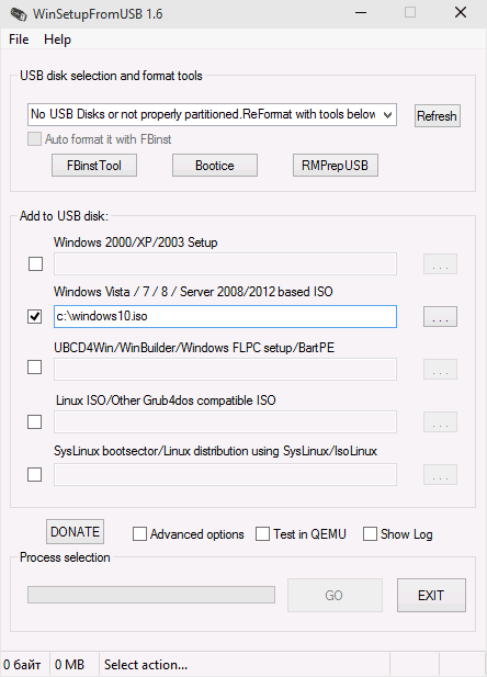 Как создать загрузочную флешку виндовс 10