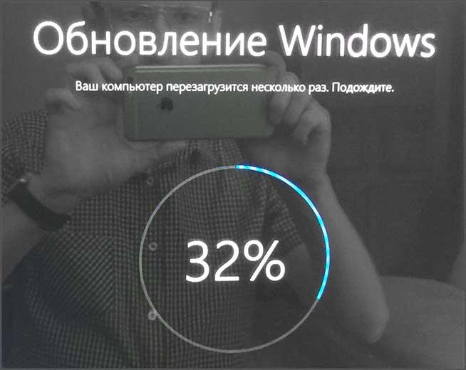 Процесс обновления Windows
