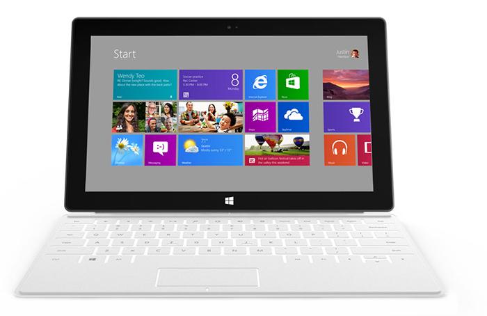 Планшет Surface с Windows RT