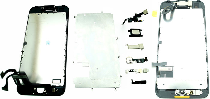 Запчасти iPhone 7 для сборки