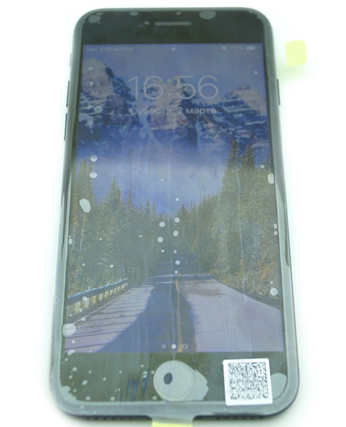Замена дисплея iPhone 7 выполнена