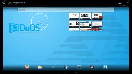 AMIDuOS Android emulyatori