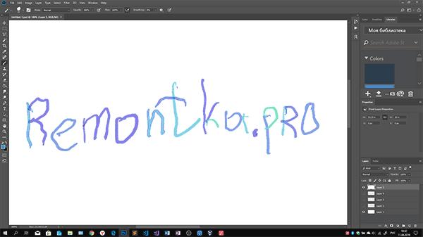 Использование Android в качестве графического планшета в Photoshop