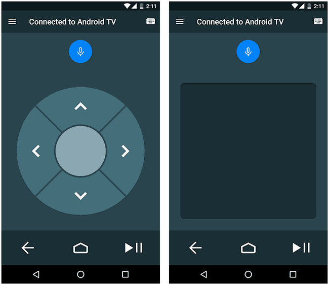 Pult Android TV masofadan boshqarish