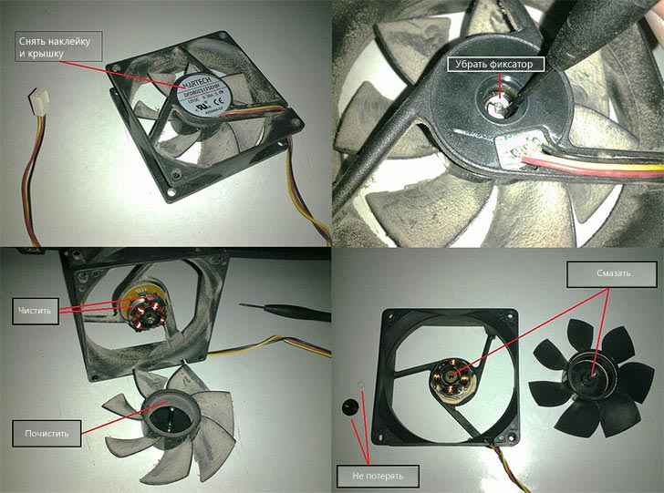 Как почистить вентилятор компьютера