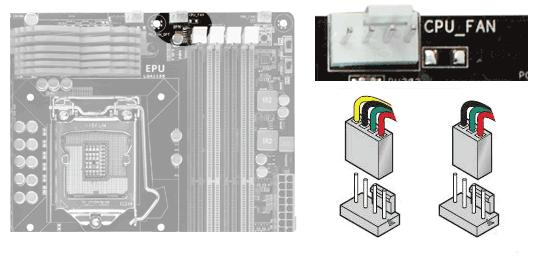 Правильное подключение кулера CPU