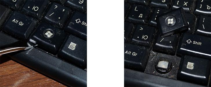 Разборка клавиатуры компьютера