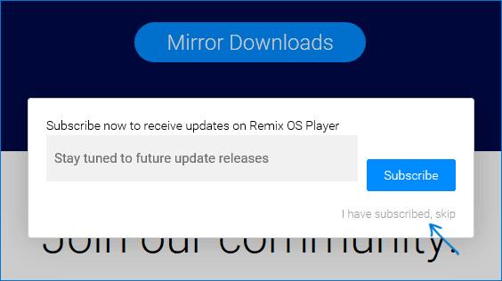 Скачать Remix OS Player
