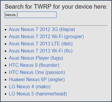 Скачать TWRP рекавери