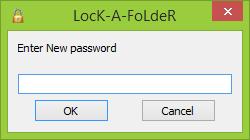 Введите пароль для доступа к папкам