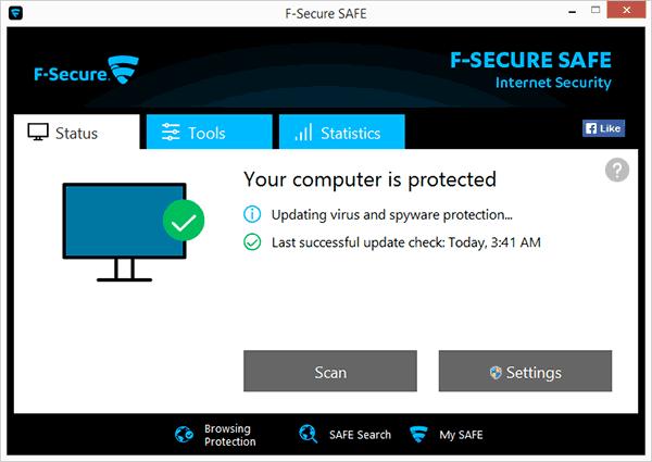 Антивирус F-Secure