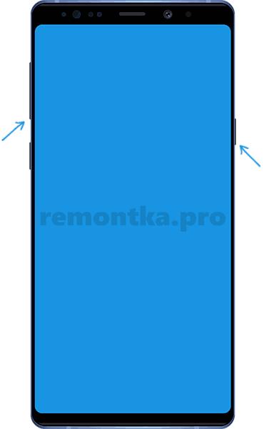 Принудительное выключение смартфона Samsung