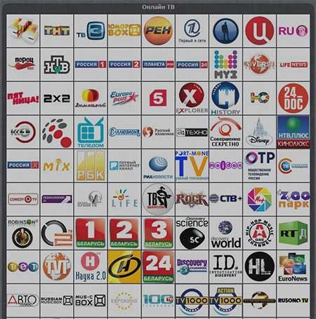 Каналы ТВ на Gipnomag.ru