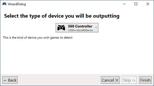 Настроить Dualshock 4 как Xbox 360