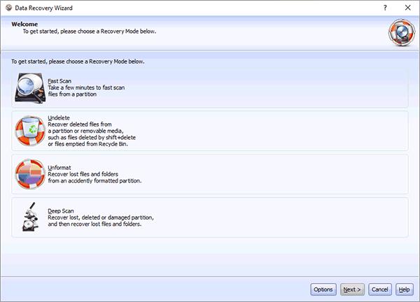 Мастер восстановления данных Lazesoft