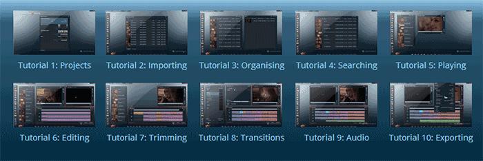 Уроки монтажа видео в LightWorks
