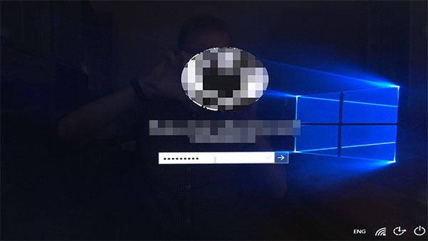 Вход в обновленный Windows 10