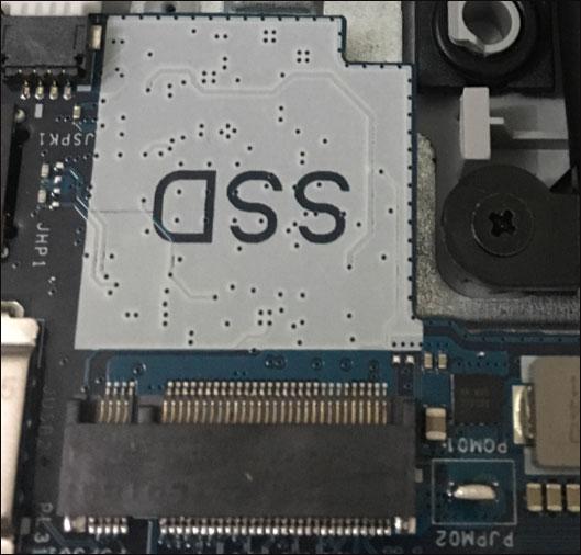 Noutbukda M.2 SSD uyasi