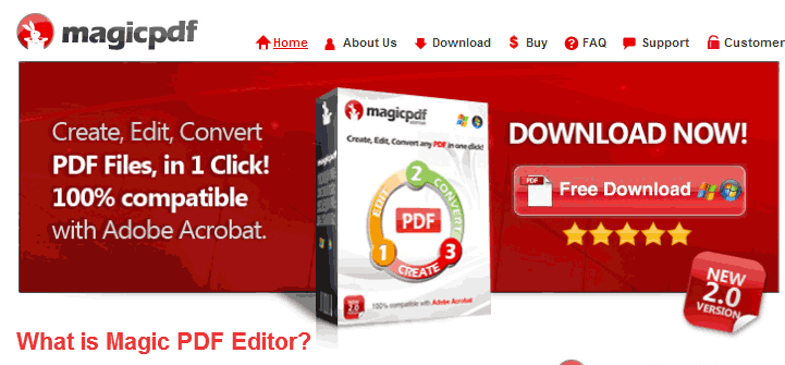 Программа magic pdf editor