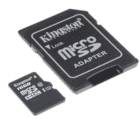 MicroSD karta adapteri