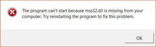 Ошибка файла mss32.dll в игре Call of Duty