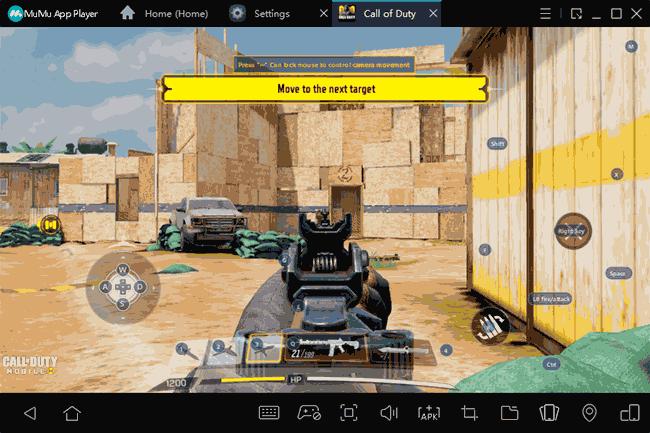 MuMu App Player Android emulyatoridagi klaviaturani boshqarish