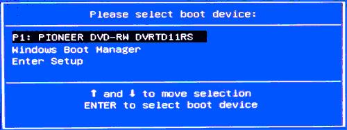 Загрузочная флешка не отображается в Boot Menu