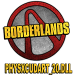 Physxcudart_20.dll для Borderlands