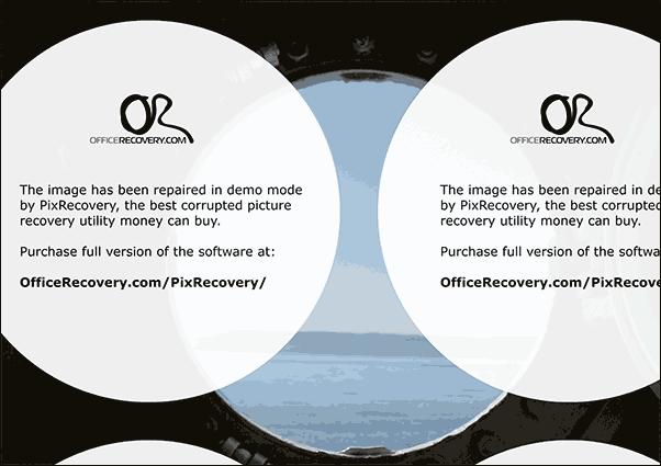 Результат восстановления в PixRecovery