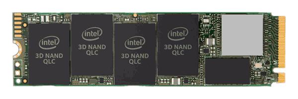 SSD с памятью QLC от Intel