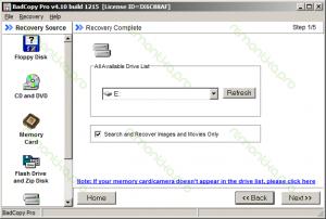 Восстановление файлов с помощью Badcopy pro